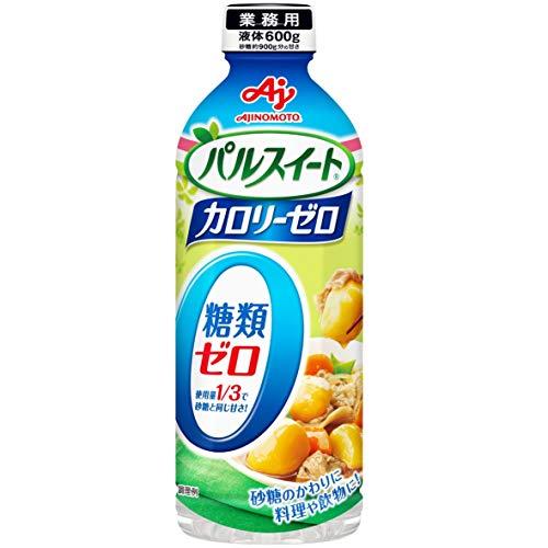 味の素 パルスイート カロリーゼロ (液体タイプ)600g