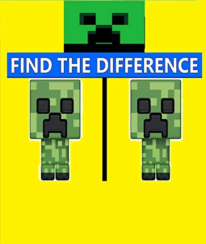 1980 Best Minecraft Spot The Difference Puzzles