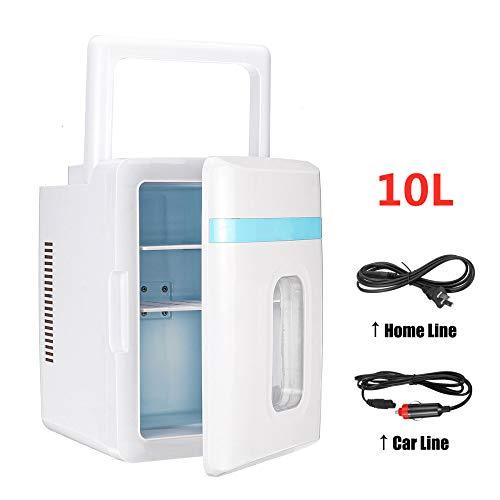 ChenYi 10L Haus/Auto Kühlschränke Kompressor Gefrierschrank Kühlung Heizung Box Maschine Kühlschrank Mini Gefrierschrank Kühlschrank Mini Tragbare Reise Verwenden,Blue