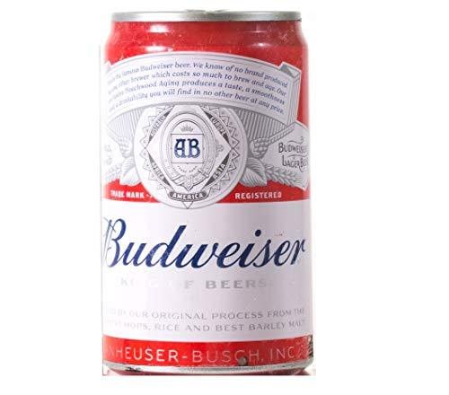Bud Light Altavoz Bluetooth para latas de Cerveza, Sonido estéreo inalámbrico, Reproductor de música con luz Bluetooth, Budweiser...