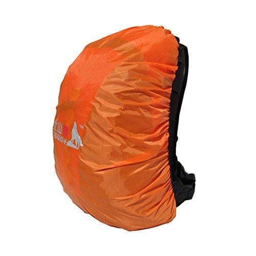 (Orange) Camping / Sac à dos randonnée imperméable à, Taille S, 20-30L