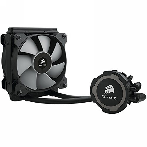 Corsair Hydro Series H75 - Sistema de Refrigeración Líquida (Radiador de 120 mm, un ventilador SP120 PWM, All-in-One Liquid CPU Cooler), Negro