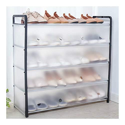 TYLJ MyBHD Extraíble de Zapatos a Prueba de Polvo de gabinete en Rack con Multi-Capa de Zapatos Almacenamiento de Zapatos (Color : 5 Layers S)