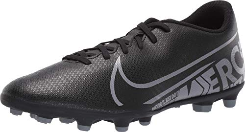 Nike Herren Vapor 13 Club Fg/Mg Fußballschuhe, Schwarz (Black/MTLC Cool Grey-Cool Grey 001), 45.5 EU