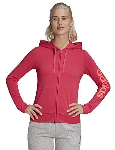 adidas Damen Linear Sweatjacke rosa M