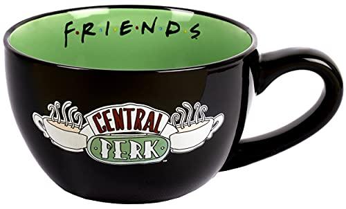 FRIENDS - Taza Taza de Cerámica - Capacidad de 650 ml - Taza Decorativa - Taza de Café Cappuccino - Mercancía Regalos del Programa de Televisión Regalo para Amigos