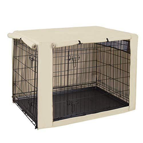 HiCaptain Polyester Dog Crate Cover - Durable...