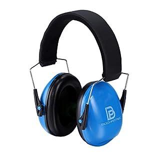 Bochamtec – Protectores auditivos para niños con reducción de Ruido, NRR 23 dB Ajustables y Suaves para Disparos de Tiro para Caza, Orejeras para niños