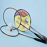 Premier Sports badminton set. 2 rackets and 1 shuttlecock. Garden game, beach game 2 player badminton