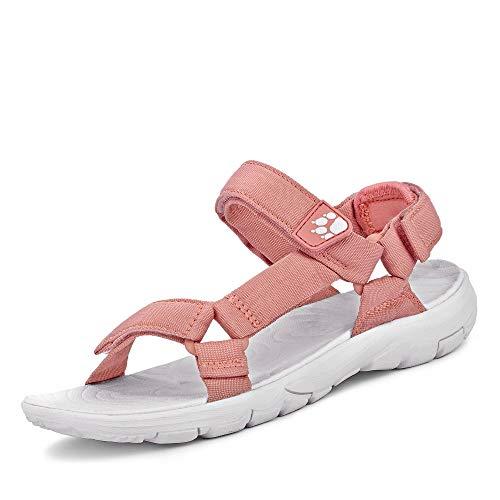 Jack Wolfskin Damen Seven Seas 2, Sport Sandalen, Pink (Rose Quartz 2131), 38 EU (5 UK)