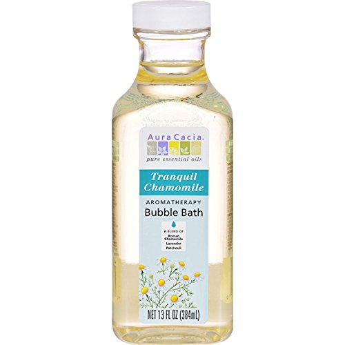 Aura Cacia Aromatherapy Bubble Bath, Tranquil Chamomile 13 oz (Pack of 3)