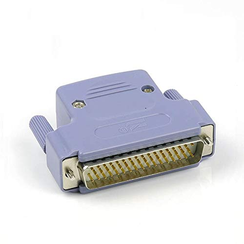 XFC-IOMK, Reine Kupfer DB50 männlich und weiblich 3 Reihen von 50 Pins ABS-Kunststoffschale Plug Connector Plug-in (Farbe : Army Green, Pins : 50P)