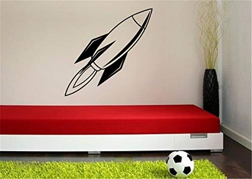 wandaufkleber 3d spiegel wandaufkleber baum schwarz Nursery Wall Decal Rocket Silhouette Vinyl Wall Decal Sticker