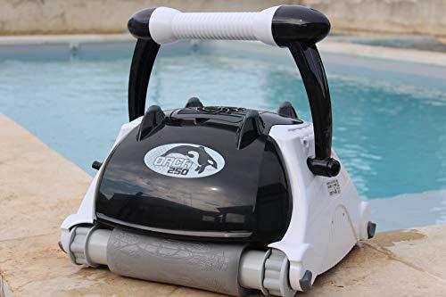 EDENEA - Robot pour piscine automatique ORCA 250 - Nettoyeur piscine fond, parois et ligne d'eau