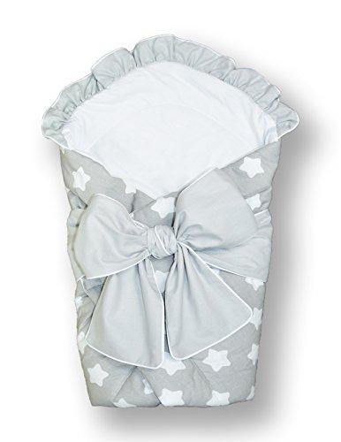 Amilian® Babyhörnchen Babynest Fußsack Baby Nest Babyhornchen 80x80 cm R07