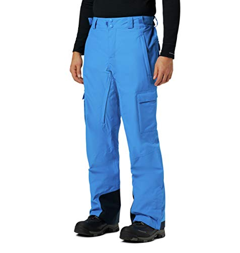 Columbia Men's Ridge 2 Run III Pant, Azure Blue ,Medium Regular
