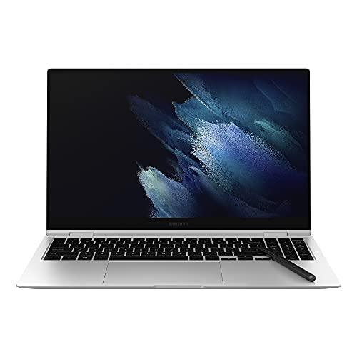 Samsung Galaxy Book Pro 360 39,62 cm (15,6 Zoll) Notebook (Intel Core Prozessor i7, 16 GB RAM, 512 GB SSD, Windows 10 Home) Mystic Silver Technische Daten können sich ändern