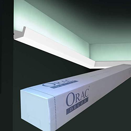 Orac Decor - Carton de 16 mètres CX189 Corniche pour éclairage indirect Orac Decor - 2,7x2,7x200cm (h x p x L) - moulure décorative polymère