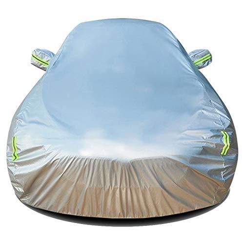 DUWEN Kompatibel mit Mercedes-Benz C-Klasse Cabriolet Car Cover Car Plane Allwetter Breath volle Auto-Abdeckung Outdoor Staubabdeckung Regenschutz Sonnenschutz Kratzer beständig UV Windsicher