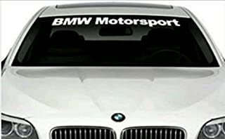 GY Vinyl Arts,Windshield,Decal,Car,Sticker,Banner,Graphic,for BMW Motorsport