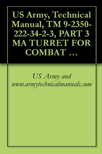 US Army, Technical Manual, TM 9-2350-222-34-2-3, PART 3 MA TURRET FOR COMBAT ENGINEER VEHICLE, M728, (NSN 2350-00-795-1797) (English Edition)