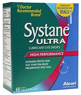 60 Vials Systane Ultra Preservative Free Individual Vials