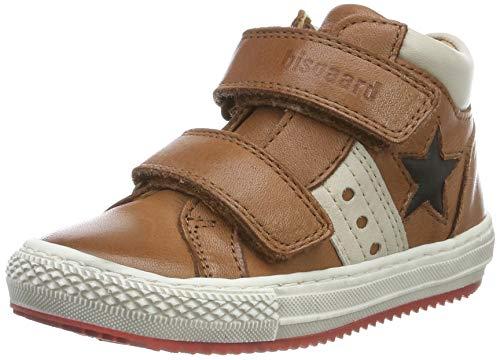 Bisgaard Jungen Jacob Hohe Sneaker, Braun (Cognac 502), 24 EU