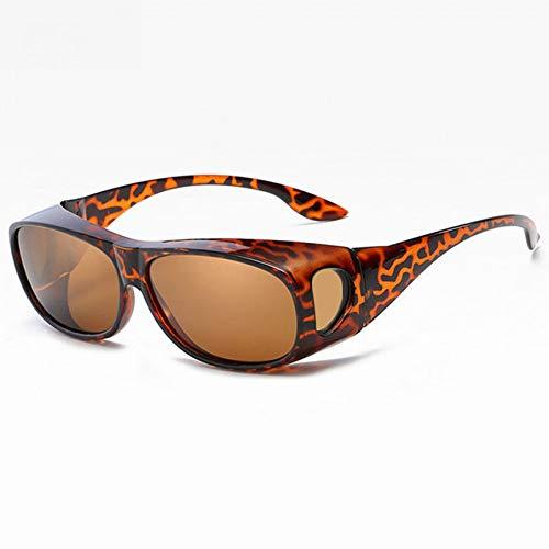SXRAI Sonnenbrillen Männer zum Fahren Nachtsichtvisier Polarisierte Sonnenbrillen Männer Polarisierende Fahrer Sonnenbrille Männlich,C3