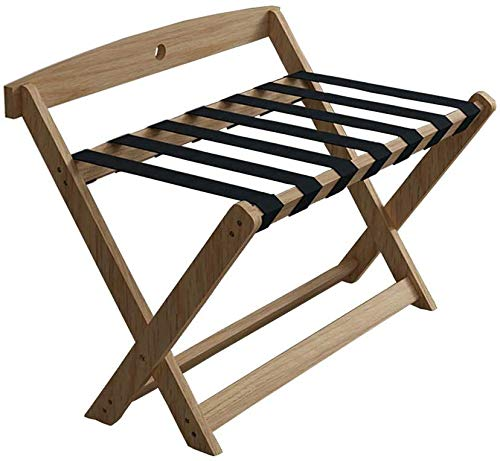 Check Out This QTQZDD Room Luggage Holder, Hotel Solid Wood Folding Luggage Rack, Travel Break Foldi...