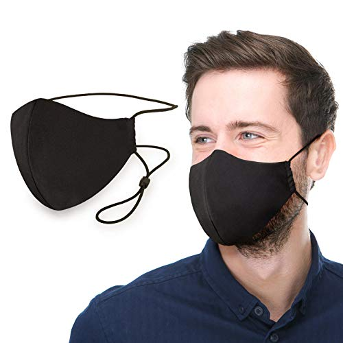 Extra Comfort Mouth Cover Adjustable Overhead Washable & Reusable