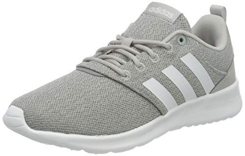 adidas Damen QT Racer 2.0 Sneaker, Grey/Cloud White/Grey, 40 2/3 EU