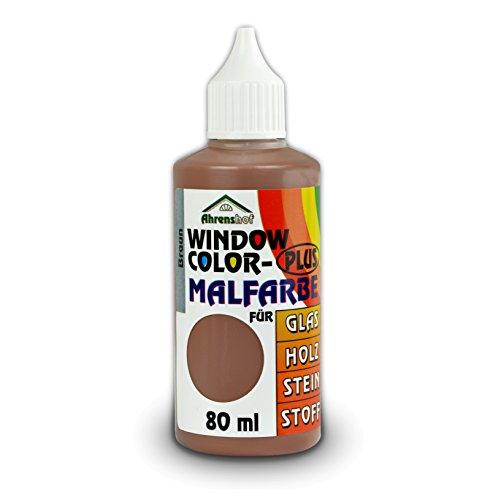 Window Colors Plus braun 80 ml