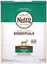 NUTRO WHOLESOME ESSENTIALS Adult Natural Dry Dog Food Lamb & Rice Recipe, 30 lb. Bag