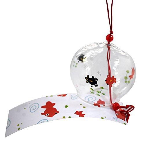 Japanse Furin Handgemaakte Wind Chime Verjaardag Valentijnsdag Gift Home Decors (Vissen Spelen)