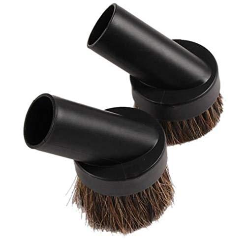 ZHANGJIAN Cepillo de Polvo de 32 mm Pincel de Polvo Taller Herramienta de vacío Accesorio Accesorio Aspirador Fácil de Cargar