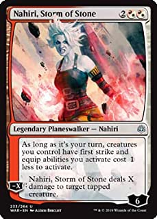 Magic: The Gathering - Nahiri, Storm of Stone - War of The Spark