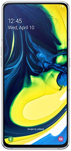 Samsung Galaxy A80 (Ghost White, 8GB RAM, 128GB Storage) with No Cost EMI/Additional Exchange Offers