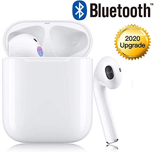 Bluetooth 5.0 Wireless Headphones, In-Ear Headphones IPX5 Waterproof Sports Headphones 3D Surround noise reduction Headphones for /AirPods Pro/iPhone/Samsung/Huawei