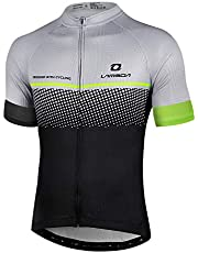 LAMEDA Maillot Ciclismo Hombre Ropa Camiseta Bicicleta MTB con Mangas Cortas