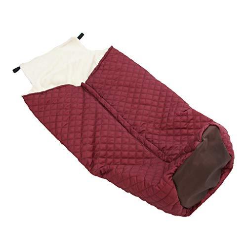 B Baosity Winter Warm Rollstuhlsack Schlupfsack Regenschutz Rollstuhlschlupfsack Rollstuhlsack, Größe für die meisten elektrischen/manuellen Rollstuhl