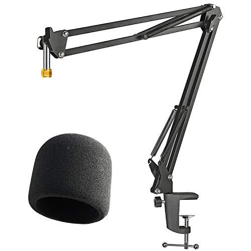 Soporte para Micrófono con Micrófono Parabrisas en Espuma para Blue Yeti y Yeti Pro de YOUSHARES