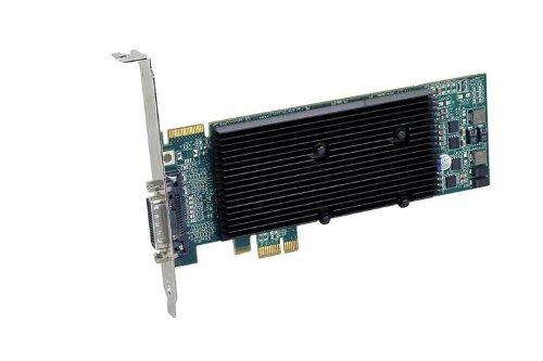 Matrox M9120 Plus LP DualHead Grafikkarte (PCIe x1, 512MB GDDR2 Speicher, ATX, Dual DVI-I)