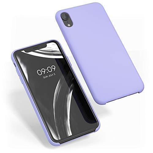 kwmobile Funda Compatible con Apple iPhone XR - Carcasa de TPU para móvil - Cover Trasero en Lila