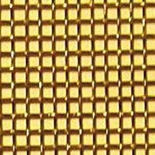 真鍮平織金網 真鍮網織 黄銅金網 メッシュ 28) メッシュ:80|線径(mm):0.12|目開き(mm):0.20|大きさ:910mm×1m