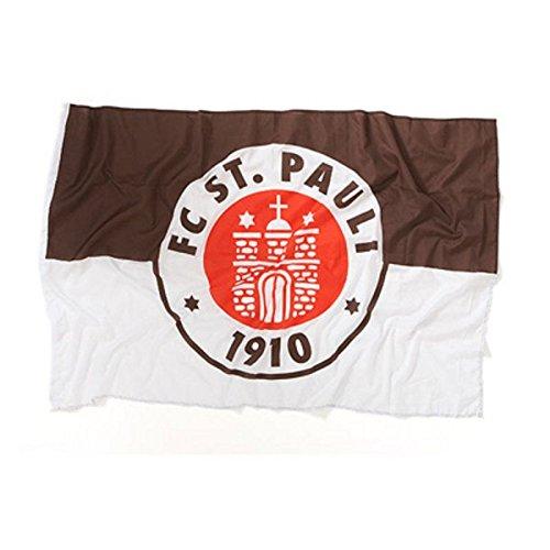 Upsolut 1.FC St. Pauli - Logo Fahne Braun 1x1,5m