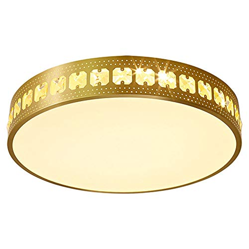18W, moderne led-plafondlamp, dimbaar, ronde plafondlamp, metalen plafondlamp, acryl, slaapkamer werkkamer woonkamer Ø30CM×H5CM