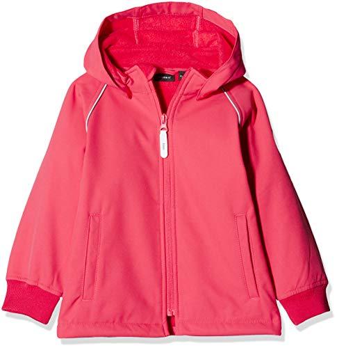 NAME IT Mädchen NMFMALTA Jacket Jacke, Rosa (Teaberry Teaberry), (Herstellergröße: 98)