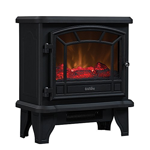 Duraflame DFS-550-21-BLK Maxwell Electric Stove with Heater 1500W,...