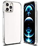 Ringke Cover Fusion Compatibile con iPhone 12 PRO Max, Custodia Paraurti Antiurto - Clear Trasparente