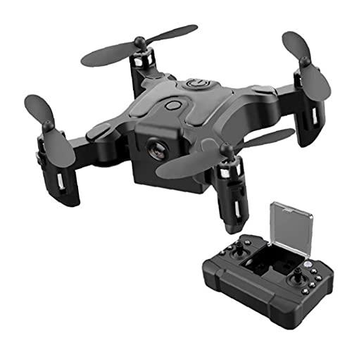 Quadcopter tascabile Pieghevole mini Drone con telecamera Telecomando WiFi Smart Segui un drone lungo lungo per bambini Attrezzatura audio per principianti